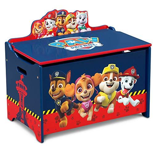Delta Children Deluxe Toy Box, Nick Jr. PAW Patrol