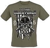GLOBAL Five Finger Death Punch Men's Infantry Special Forces T-Shirt L