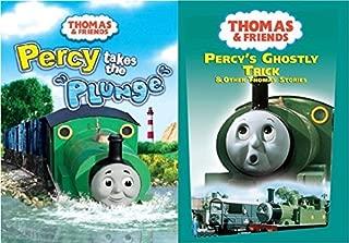 Thomas & Friends 2 DVD Thomas Set Wooden Tank Train Engine Sealed