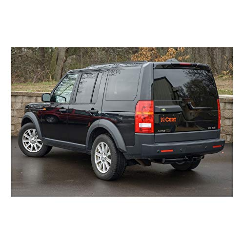 LR4 2010-2016 Range Rover Sport 2006-2013 POWERWORKS Tow Towing Trailer Hitch Receiver Black for Land Rover LR3 2005-2009