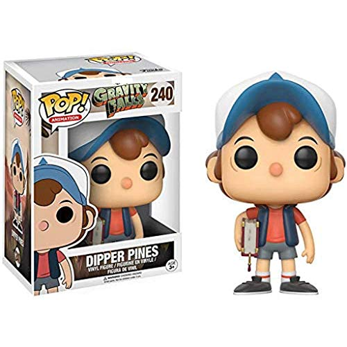 Funko Pop Animation : Gravity Falls - Dipper Pines 3.75inch Vinyl Gift for Anime Fans SuperCollection