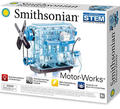 Smithsonian Motor-Works Blue, 15.0x11.0x2.0
