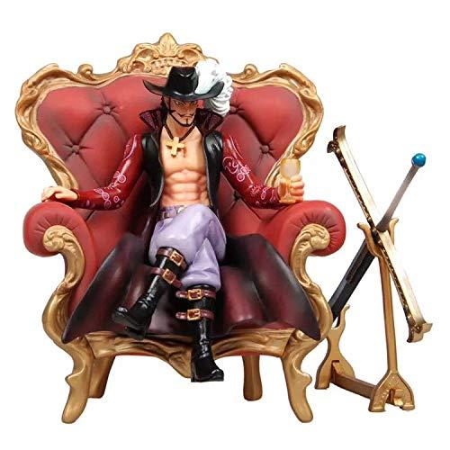 Mopoq One Piece/One Piece GK Hawkeye Throne Sofa Big Sofa Mihawk Pop Hawkeye Seven Wuhai Anime Figura