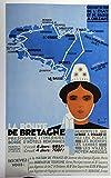 Bretagne Poster, Format 50 x 70 cm, Papier, 300 g, Format