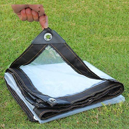 HCYTPL kas helder zeil outdoor waterproof plants tuin kunststof afdekking - 120 g/m2