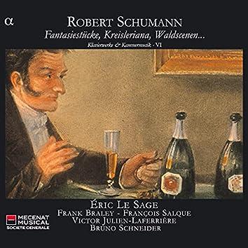 Schumann: Fantasiestücke, Kreisleriana, Waldscenen… - Klavierwerke & Kammermusik VI