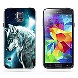 FUBAODA Funda para Samsung Galaxy S5 /S5 Neo /S5 LTE + /S5 Duos Carcasa de Silicona...