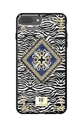 Richmond und Finch Designed für iPhone 6+ / 6s+ / 7+ / 8+ Gehäuse, Kette Zebra Gehäuse für iPhone 6+ / 6s+ / 7+ / 8+