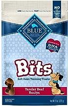 Blue Buffalo BLUE Bits Natural Soft-Moist Training Dog Treats, Beef Recipe 9-oz bag