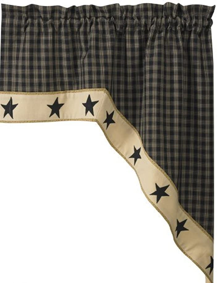 Park Designs Sturbridge Star Lined Swag, 72 x 36 by Park Designs