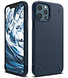 Ringke Cover Onyx Compatibile con iPhone 12, Compatibile con iPhone 12 PRO, Custodia Protettiva Antiurto - Navy