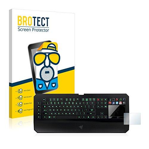 BROTECT 2X Entspiegelungs-Schutzfolie kompatibel mit Razer Deathstalker Ultimate Displayschutz-Folie Matt, Anti-Reflex, Anti-Fingerprint
