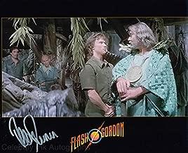 PETER DUNCAN as a Young Treeman - Flash Gordon GENUINE AUTOGRAPH