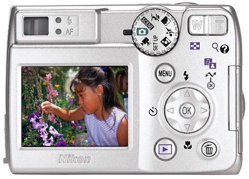 Nikon Coolpix 7600 7MP Digital Camera with 3x Optical Zoom
