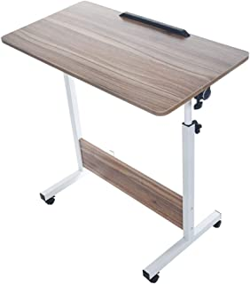 """Voberry Portable Mobile Computer Desk, Home Adjustable Folding Bed Tray for Laptop Desk Mobile Table 31.50""""x15.75 Inch Home Office Sofa Side Table for Studying Reading Breakfast"""