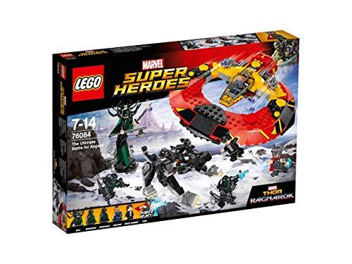 LEGO- Super Heroes The Ultimate Battle for Asgard, Multicolore, 76084