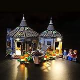 Lightailing Light Set for (Harry Potter Hagrid's Hut: Buckbeak's Rescue) Building Blocks Model - Led Light kit Compatible with Lego 75947(NOT Included The Model)