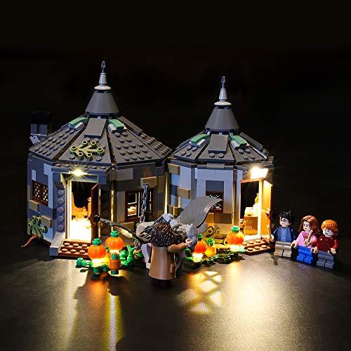LIGHTAILING Licht-Set Für (Harry Potter Hagrids Hütte: Seidenschnabels Rettung) Modell - LED Licht-Set Kompatibel Mit Lego 75947(Modell Nicht Enthalten)