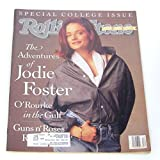 Rolling Stone Magazine March 21, 1991 Issue 600 Jodie Foster Cover