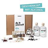 Foodist Gin Baukasten | Gin-Set zum Selbermachen | 12 hochwertige Botanicals | 11 Gin Gewürze |...
