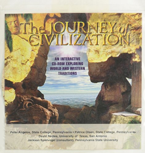 The Journey of Civilization: An Interactive Cd-Rom Exploring World and Western Traditions (Western Civilization Series)
