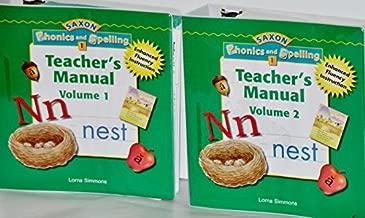 Saxon Phonics & Spelling 1: Teacher Edition Package