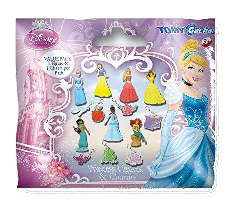 Tomy - T8819EU - Une Figurine Disney Princess avec Pendentif - Modèle Aléatoire