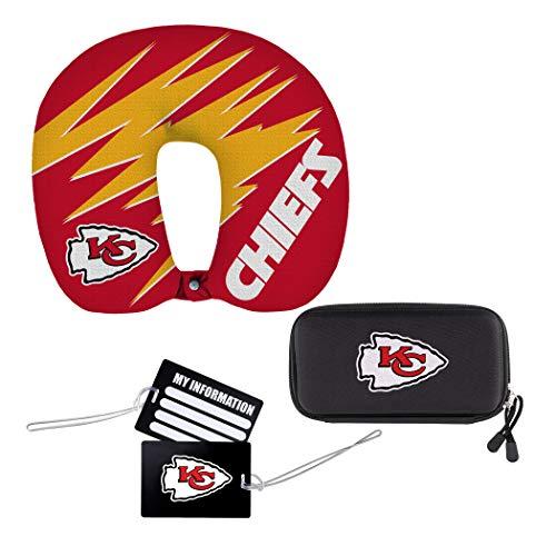 NFL Kansas City Chiefs 4-Piece Travel Set, 13' x...