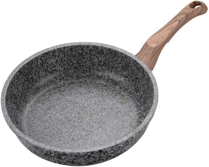 ECSWP Thickening Wok Medical Stone Pan Frying 5 Max 75% OFF ☆ popular Pancake Non-stick