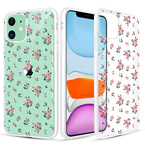 Caka Case Anti Slip Flower Phone Case for iPhone 11 -$6.65(39% Off)