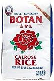 BOTAN Calrose Kraft Rice, 50 Pound