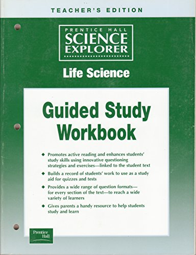 Guided Reading and Study Workbook (Prentice Hall Science Explorer, Life Science)