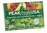 Peak Fresh Re-Usable Produce Bags, Set of 10