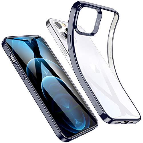 ESR Funda Compatible con iPhone 6.1 Pulgadas 12,12 Pro 2020, Marco Azul