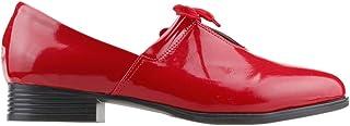 Vera V1 Rahat Taban Günlük Yürüyüş Bayan Rugan Ayakkabı KIRMIZI
