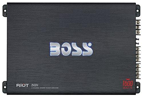 Boss Audio Systems R4004 - Amplificador de Audio (4.0, 1600W, A/B, Terminales...