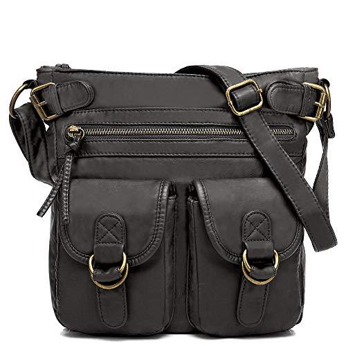 Scarleton Medium Crossbody Bag for Women, Purses for women, Shoulder Bag for Women, H199801 - Black