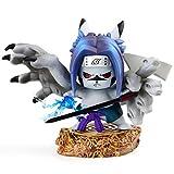 OOKVIVI Pikachu Cosplay Uchiha Sasuke Action Figure GK Naruto Anime Statue Collection PVC Model Toys Gifts(Uchiha Sasuke)