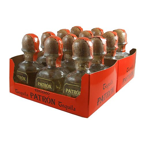 Photo of Patron Reposado Tequila 5cl Miniature – 12 Pack