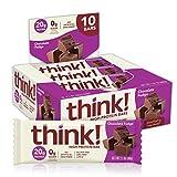 Thinkthin haute Protéine, 59,5gram (lot de 10)
