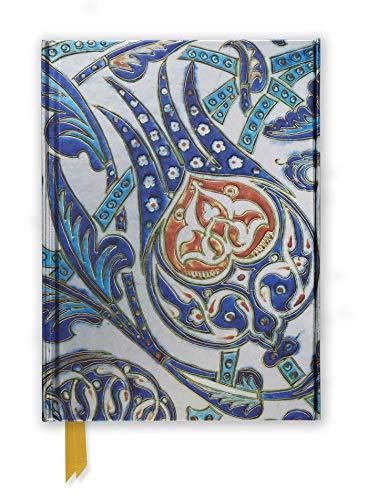 Premium Notizbuch DIN A5: Fitzwilliam Museum, Iznik Fliese: Unser hochwertiges, liniertes Blankbook mit festem, künstlerisch geprägtem Einband und ... Notizbuch DIN A 5 mit Magnetverschluss)