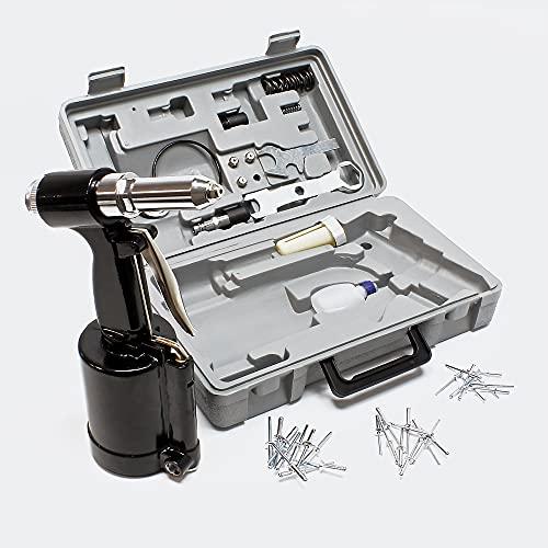Druckluft Nietpistole 2,4-4,8 mm pneumatisches Nietgerät für Blindnieten im Set