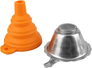 D DOLITY 3D Printer Metal UV Resin Filter Cup+Silicon Funnel for 3D Printer