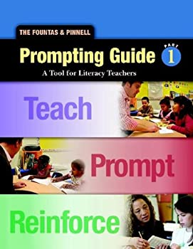 Spiral-bound Fountas and Pinnell Prompting Guide 1 A Tool for Literacy Teachers Book