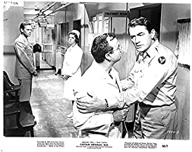 Captain Newman MD original 8x10 photo 1963 Gregory Peck in scene outside office