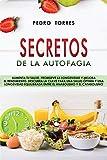 Secretos de la Autofagia: Aumenta tu salud, promueve la longevidad y mejora el rendimiento. Descubra la clave para una salud óptima y una longevidad ... - Autophagy Secrets (Spanish Version)
