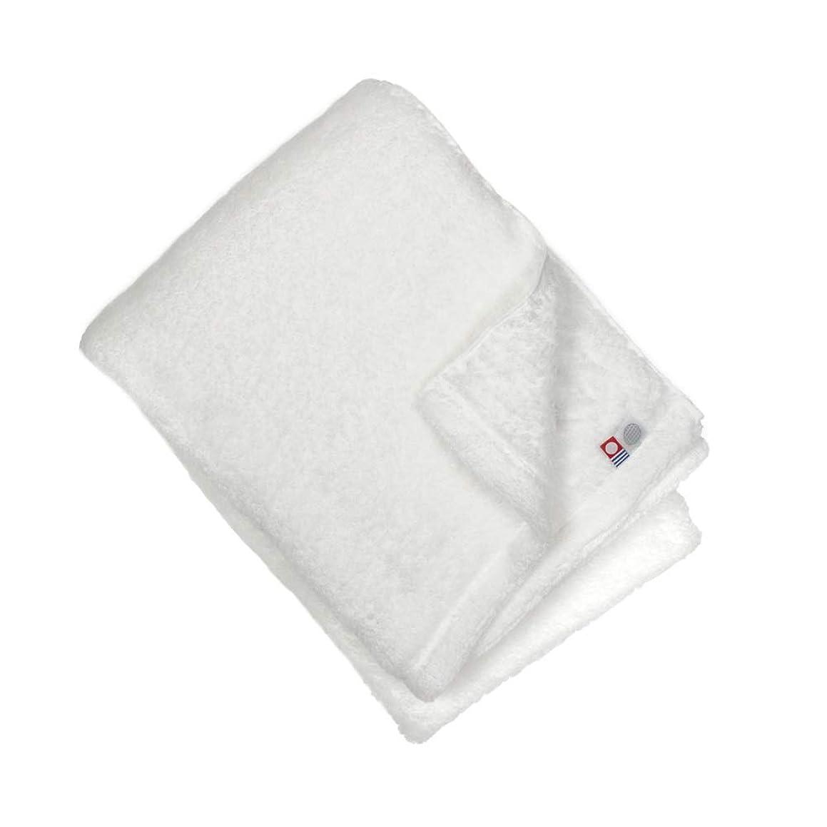なかなか導出ライブ伊織 今治タオル yume -the soft towel- (バスタオル, ホワイト)