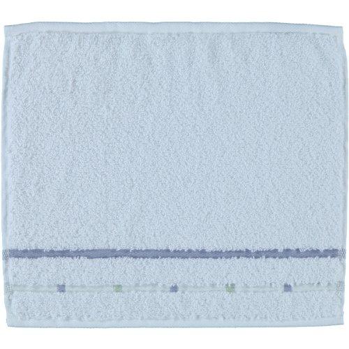 Vossen Handtücher Quadrati weiß/Kiesel - 051 Seiflappen 30x30 cm