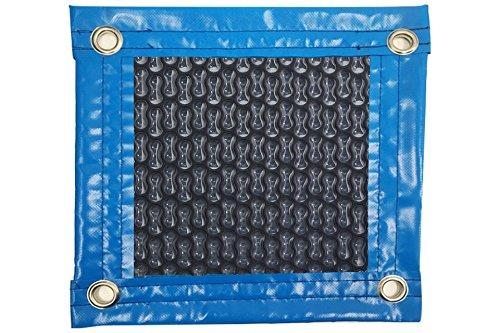Pool System Schutzplane, Solar-Abdeckplane für Pool, mit Verstärkung rund um die Kontur Geobubble NewEnergyGuard Selective Übertragung 500µ, 9 x 3 m