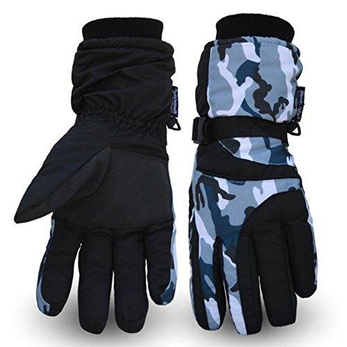 スキー グローブ 冬用 自転車 スノーボード グローブ 防寒 防水 snow gloves ski gloves スキー 手袋 冬用 ...